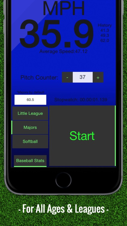 Baseball Pitch Speed - Radar Gun screenshot-3