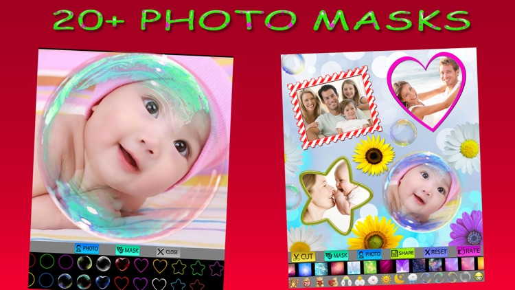 Photo Cut and Stickers