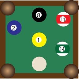 Pool/Billiards Turn Keeper and Playground
