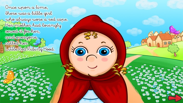 The little red riding hood - PlayTales