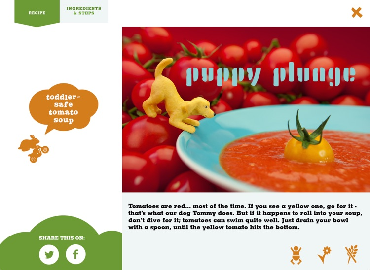 VEGGI RIDER - Healthy eating for kids