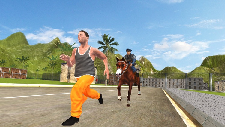 Prisoner Escape Police Horse - Chase & Clean The City of Crime From Robbers & Criminals screenshot-3