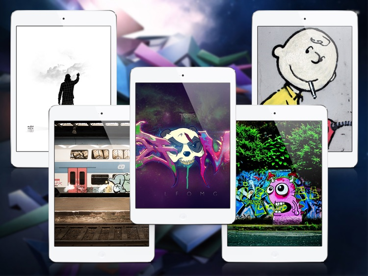 HD Wallpapers for Graffiti - iPad Version screenshot-3