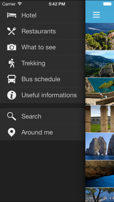 Screenshot of Info Capri2