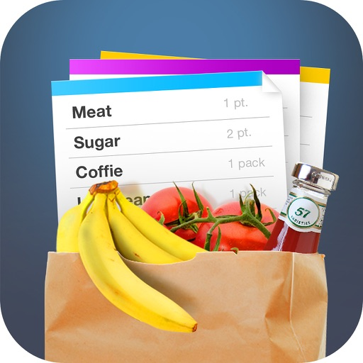Free Shopping List.Free Grocery List icon