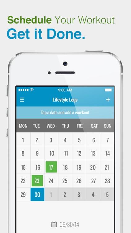Lifestyle Leg Workout Pro screenshot-3