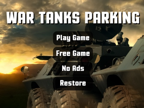 3D RC армии танк Парковка Школа и водитель симулятор на iPad
