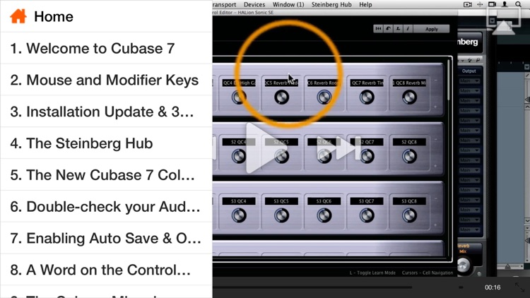 AV for Cubase 7 101 - Moving Forward with Cubase 7