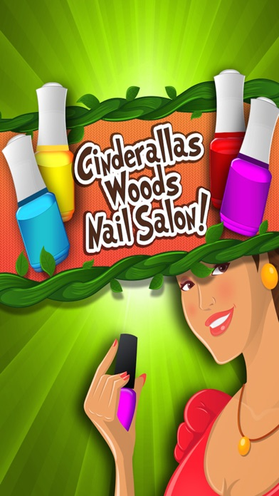 Cinderella's Woods Nail Salon - Beauty Make-Over Design & Fashion Manicure Dress-Up (Free Maker Games for Girls)のおすすめ画像1