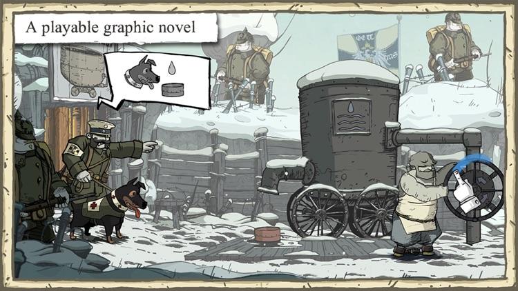 Valiant Hearts: The Great War screenshot-0