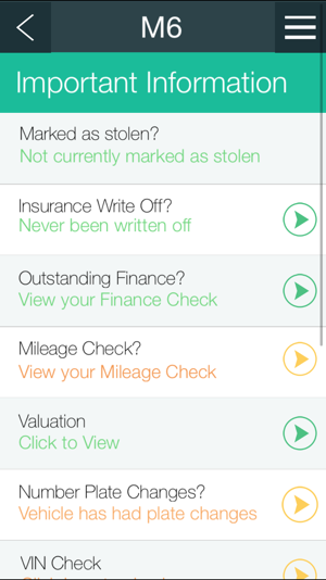 Car Check On The App Store