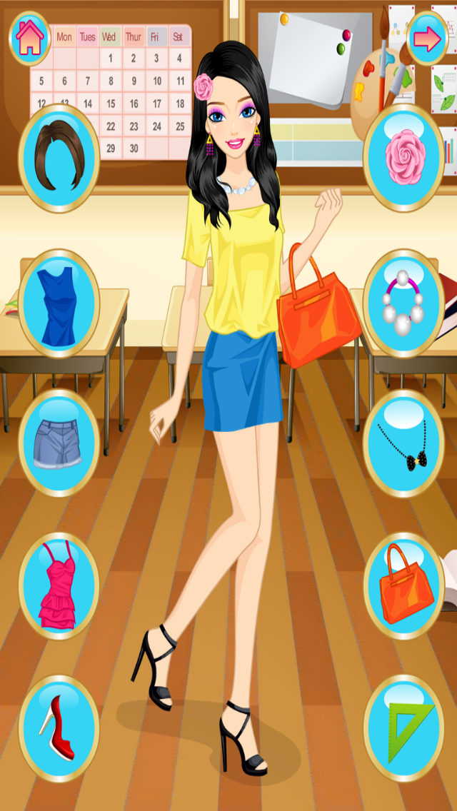 messages.download Dress Up, Girls, Back To School software