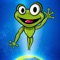 Jump with your Froggy into the Galaxy and beyond by bouncing from one platform to another