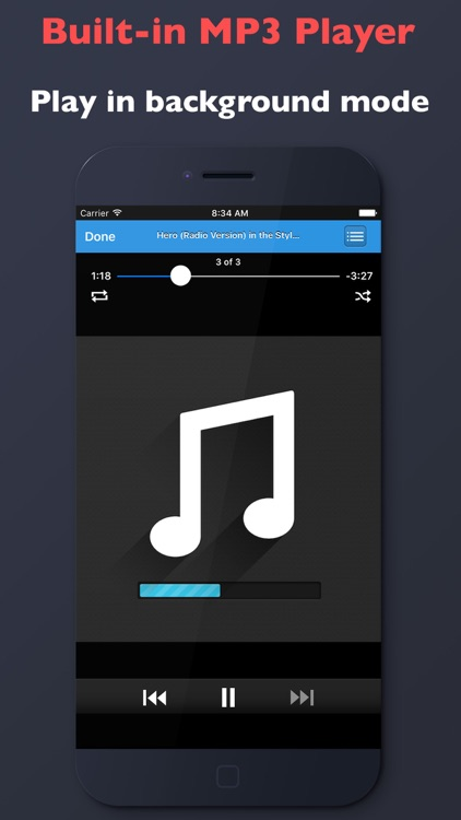 MyMP3 - Free MP3 Music Player & Convert Videos to MP3