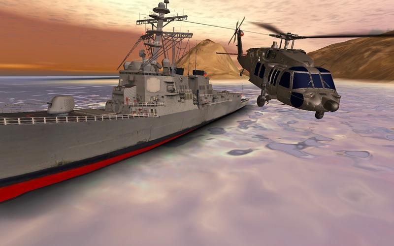 Helicopter Sim Pro - Hellfire Squadron screenshot 2