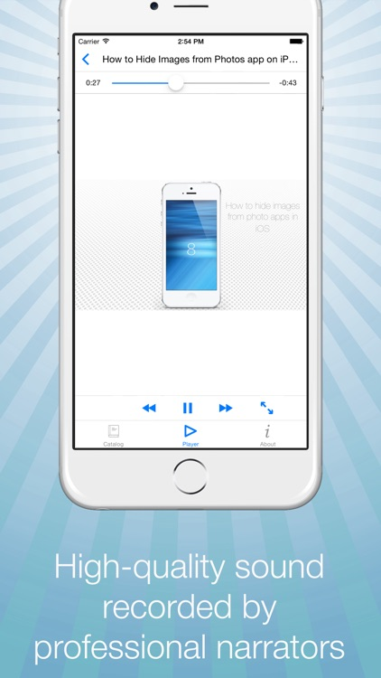 Video Guide for iPhone and iOS 8