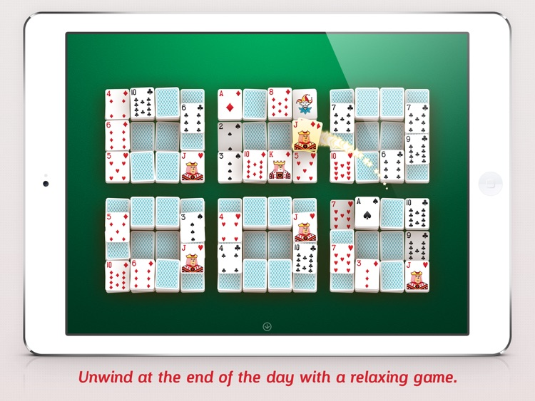 Mahjong Cards - Play classic mahjong solitaire with playing cards screenshot-3