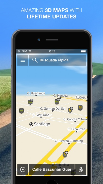 NLife Chile Premium - Offline GPS Navigation & Maps