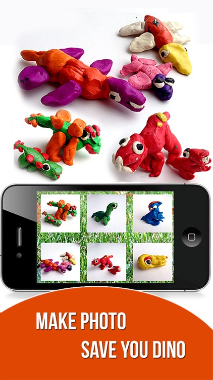 Dinosaurs. Let's create from modelling clay. Wikipedia for kids. Dino pets creative craft. screenshot-3