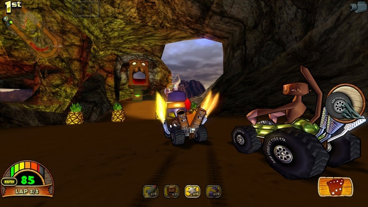 Tiki Kart 3D screenshot-4