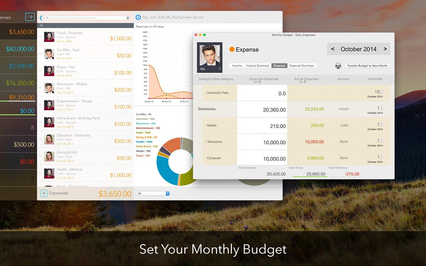 ‎Daily Expenses on the Mac App Store
