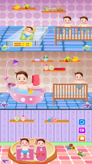 Newborn Twins Baby & Mommy Care - Play free kids game