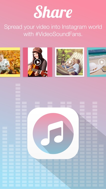 Video Sound for Instagram - Free Add Background Music to Video Clips and Share to Instagram screenshot-4