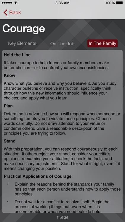 Character Core Pocket Guide screenshot-4