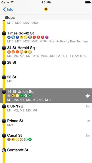 iTrans NYC Subway app image