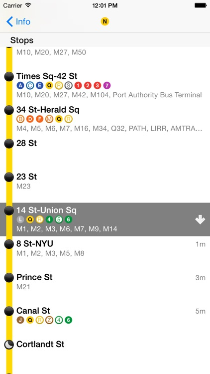 iTrans NYC Subway screenshot-4