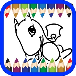 animal cartoon coloring book for kids 2