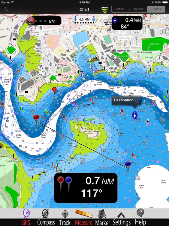 England SW Nautical Charts Pro screenshot-0