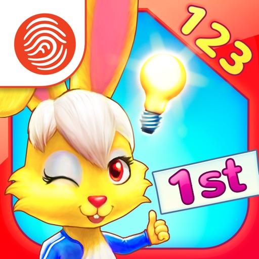 Wonder Bunny Math Race: 1st Grade - A Fingerprint Network App