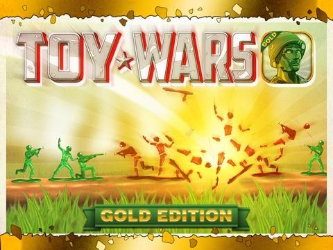 Toy Wars Gold Edition: Игры Стрелялки для Детей и Мальчиков на iPad