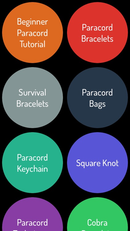 Paracord Guide - Sytling Guide