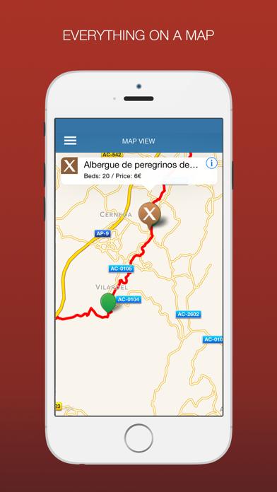 Camino Inglés - A Wise Pilgrim Guide Screenshots