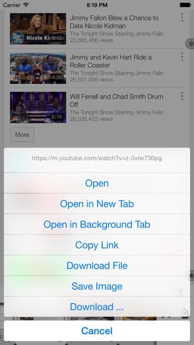 Screenshot #8 for Maven Web Browser Plus - The most ergonomics friendly browser