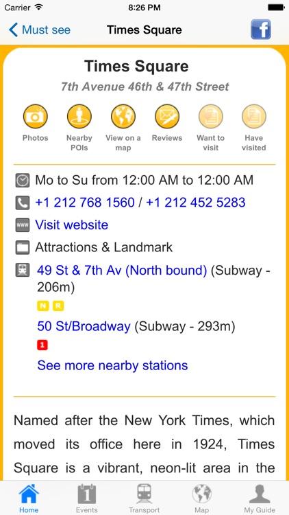 New York Travel Guide Offline screenshot-4