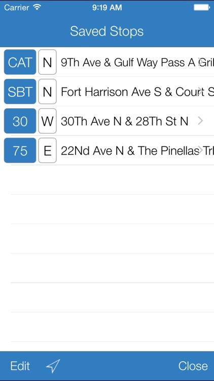 Transit Stop: PSTA Bus Tracker screenshot-3