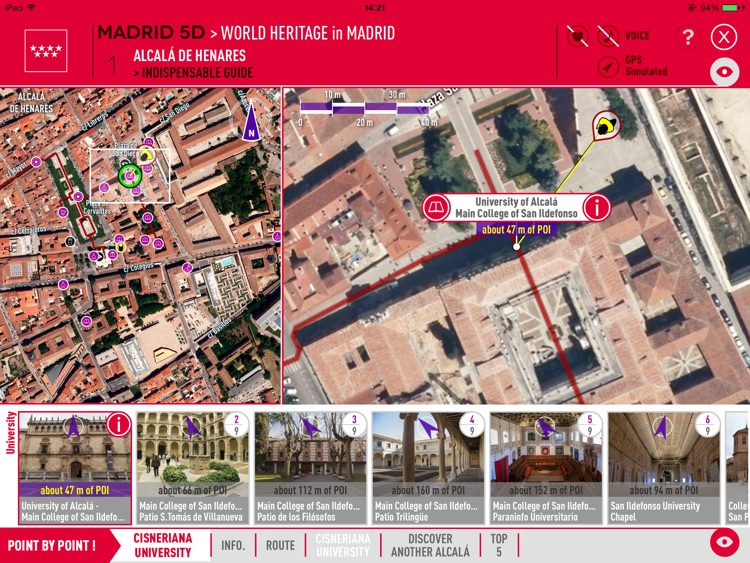 MADRID 5D GUIDE. 100% VISUAL, PORTABLE and OFF-LINE. TOURISM in the MADRID Region. screenshot-3
