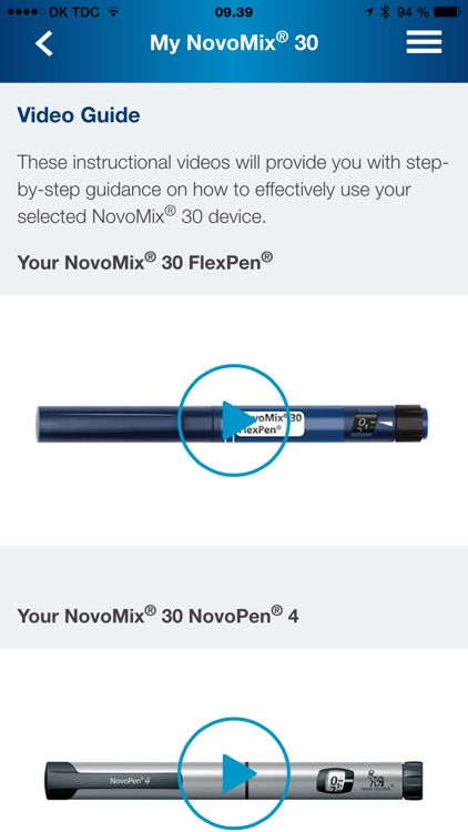NovoMix® 30 My Guide screenshot-3
