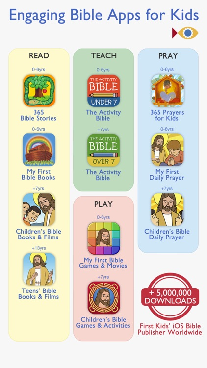 My First Bible PREMIUM – Stories and Picture Books for your Family and School with Kids under 7 screenshot-4