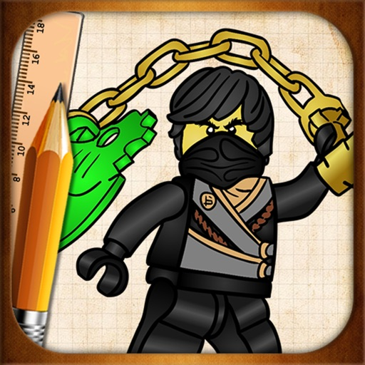 Learning To Draw Lego Ninjago Fighters Edition By Vlad Zawialow