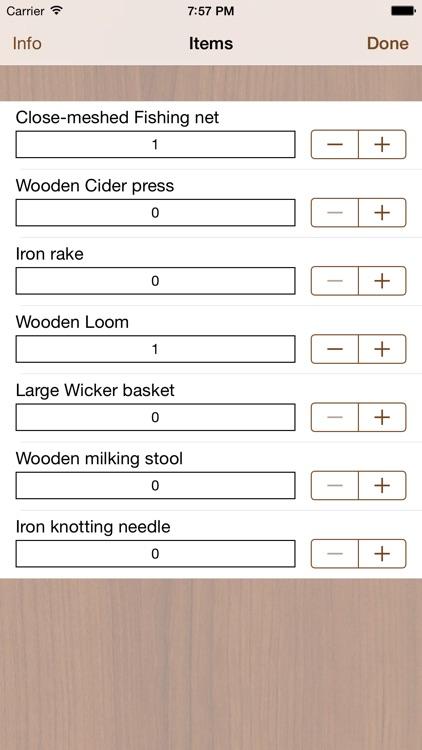 Production Calculator 1404 Lite screenshot-3