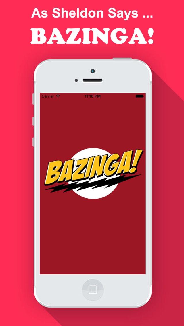 Bazinga! for Big Bang Theory Fans Editionのおすすめ画像1