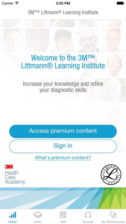 3M Littmann Learning Institute screenshot-4
