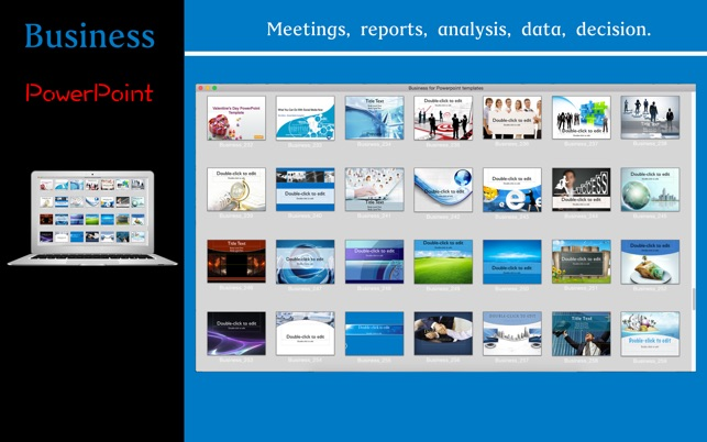 Business for powerpoint templates na mac app store business for powerpoint templates na mac app store toneelgroepblik Image collections