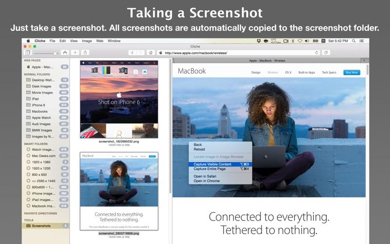 Cliche - Easy Web Image Collector for Mac