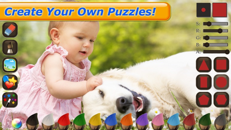 Dinosaur Puzzle - Amazing Dinosaurs Puzzles Games for kids screenshot-3