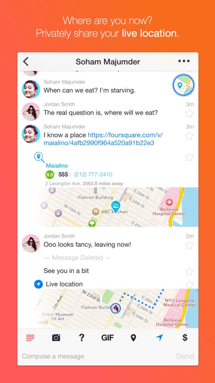 Dasher Messenger screenshot-3